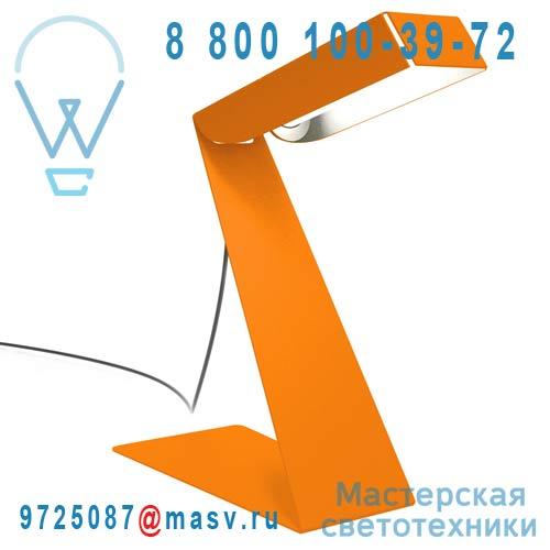 SMALL Z LIGHT lampe de bureau ORANGE Lampe de bureau Orange - SMALL Z LIGHT Thomas de Lussac