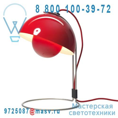 20734201 Lampe de bureau Rouge - FLOWERPOT & Tradition