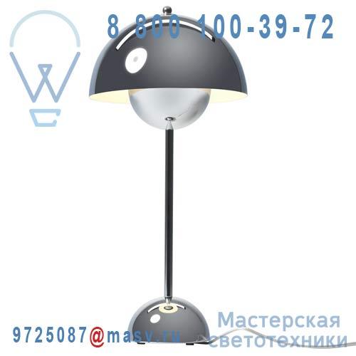 207299K Lampe de table Chrome - FLOWERPOT & Tradition