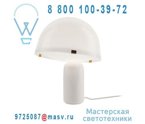 V05022 6101 Lampe a poser Blanc - KOKESHI Vertigo Bird