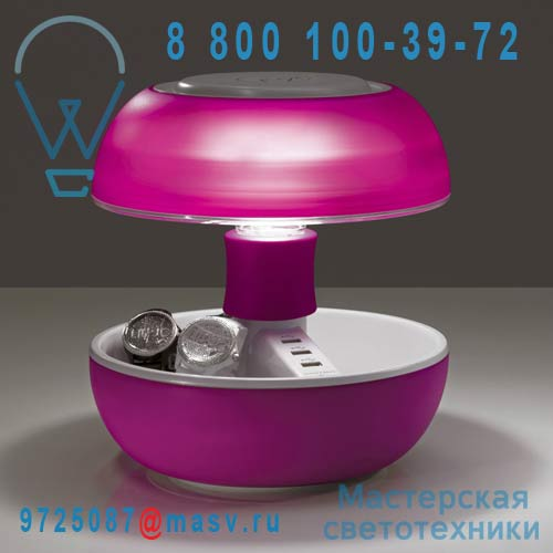 JOYO LIGHT RS Lampe Rose Translucide - JOYO Vivida