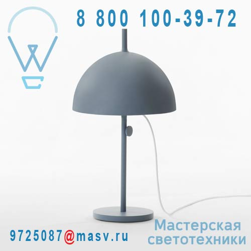 400 039 549 Bleu Lampe a poser Bleu - NENDO Wastberg