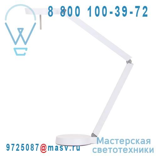 100 340 532 Lampe de bureau 2 bras Blanc - CKR W081T2 Wastberg