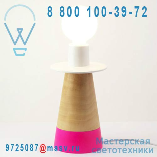 505511 Lampe a poser Rose - CONE adonde