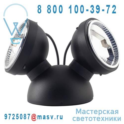 LED10248 Lampe a poser LED Noir - BIPRO 360° Azimut Industries
