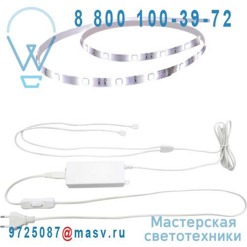3276004093141 - 68516413 Kit Ruban LED 1.5m Blanc - FLEXLED Inspire