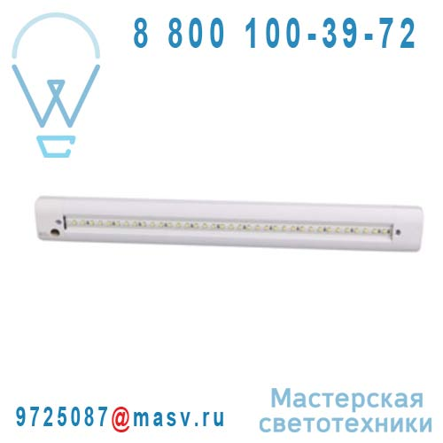 3276004155245 - 68588240 Reglette LED Blanc - ZEBEN Inspire