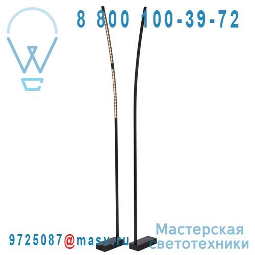 12737/16/36 Lampadaire Noir - LED LINE Lucide