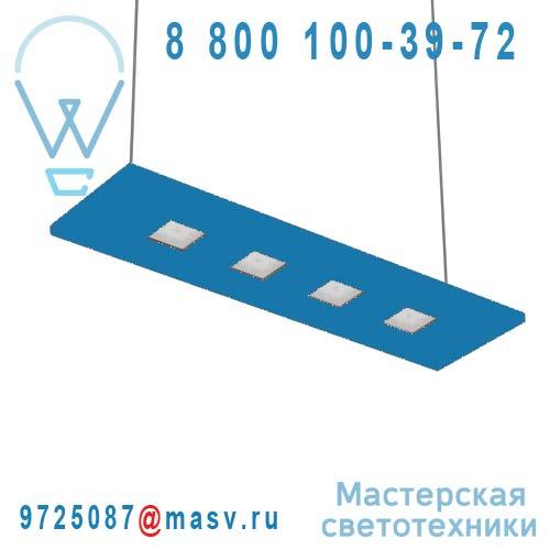 100-20C70.20N0CL/DE + 100-00268 Suspension Bleu Clair Neutre 70cm - LARIS Nowleds
