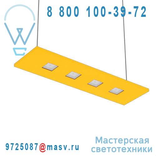 100-20C70.20N0AM/DE + 100-00268 Suspension Jaune Neutre 70cm - LARIS Nowleds