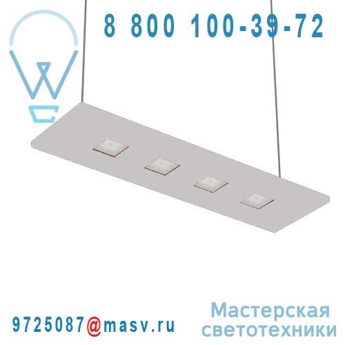 100-20C70.20C0PLATINIUM/DE + 100-00268 Suspension Platinium Chaud 70cm - LARIS Nowleds