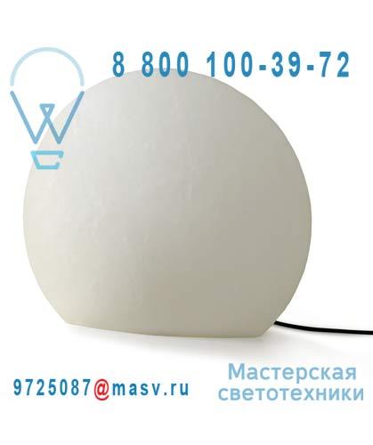 824556 Lampe a poser Exterieure L Blanc - EGGO Authentics