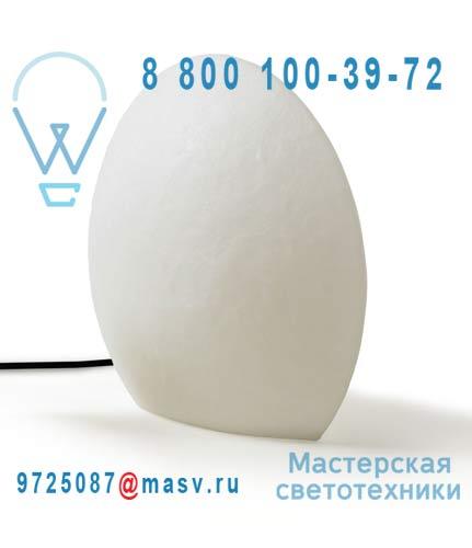 823556 Lampe a poser Exterieure M Blanc - EGGO Authentics