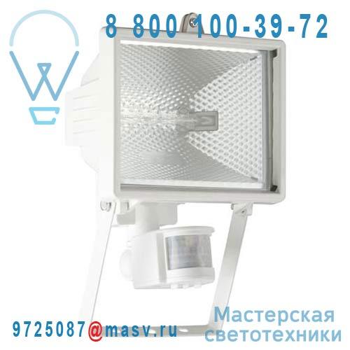 G96164/05 Applique Exterieure M avec Detecteur Blanc - TANKO Brilliant