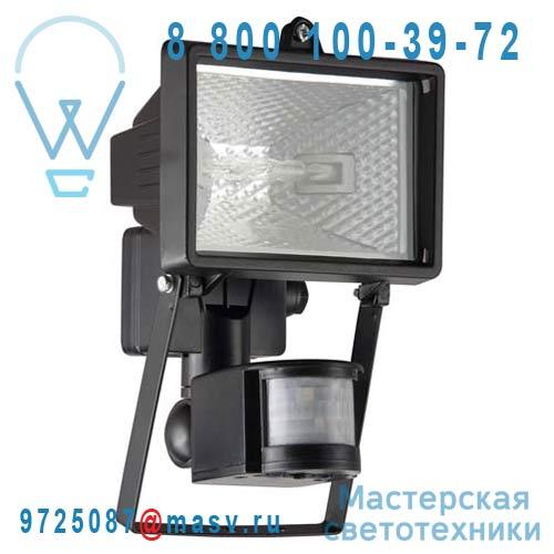 G96162/06 Applique Exterieure S avec Detecteur Noir - TANKO Brilliant