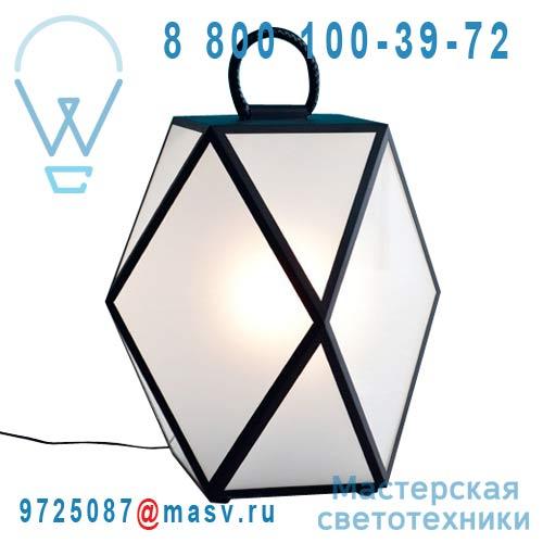 """ACAM.001245 Lampe d""""exterieur L Noir - MUSE Contardi"""