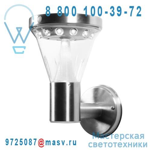 DEC/APM-SOLAR Applique exterieure solaire avec capteur LED - CONE Lumihome