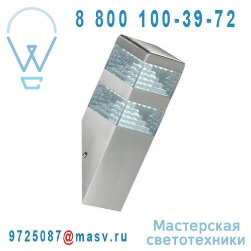 DEC/AM64-ET Applique exterieure LED L Alu - PYRAMIDE Lumihome