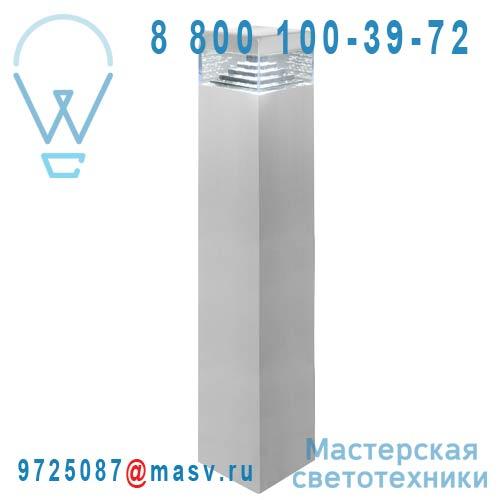 DEC/PL50-ET Borne exterieure LED M Alu - PYRAMIDE Lumihome