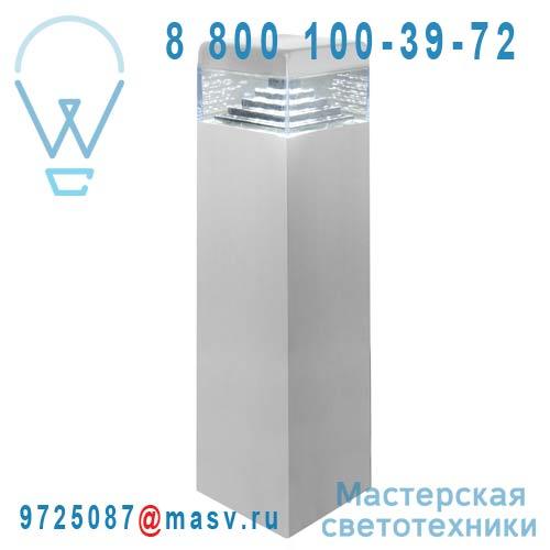 DEC/PL30-ET Borne exterieure LED S Alu - PYRAMIDE Lumihome