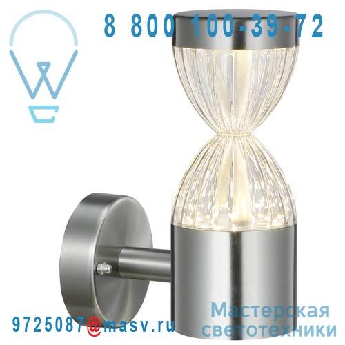 DEC/APS60-ET Applique exterieure LED Alu - SABLIER Lumihome