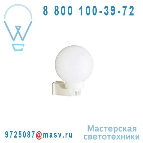 718980131 Applique Exterieur Blanc avec Detecteur - BALI Massive