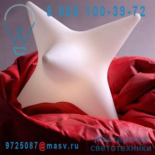 SD ETL080A Tabouret blanc - SIRIO STOOL Slide