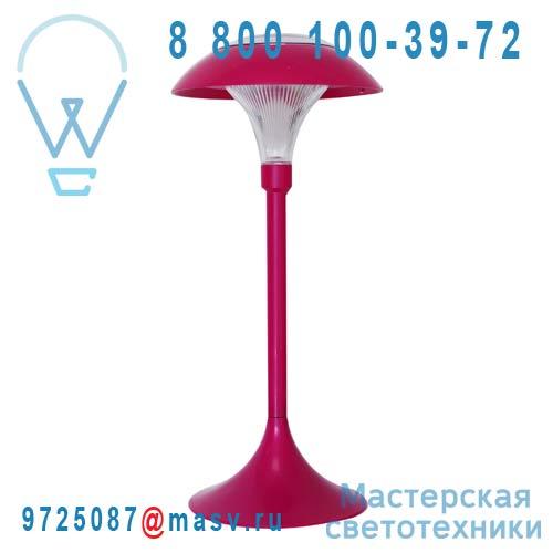 """401.913 Lampe a poser d""""exterieur solaire Rose - CHAMPIGNON Watt & Home"""