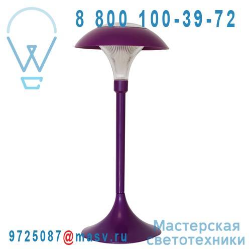 """401.912 Lampe a poser d""""exterieur solaire Violet - CHAMPIGNON Watt & Home"""