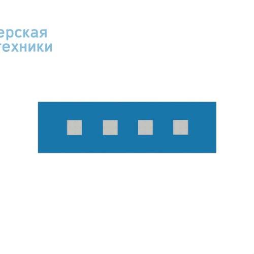 100-20C70.20N0CL/DE + 100-00269 Plafonnier Bleu Clair Neutre 70cm - LARIS Nowleds