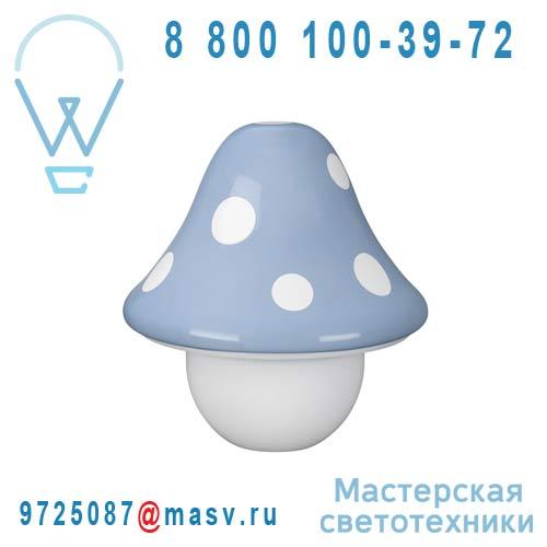 430173510 Lampe a poser Bleu - BOLETU Massive