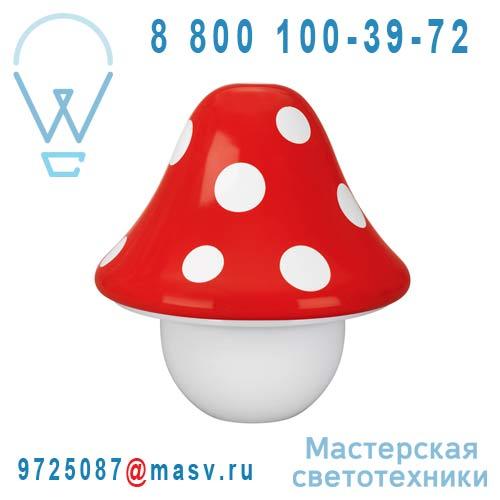 430173210 Lampe a poser Rouge - BOLETU Massive