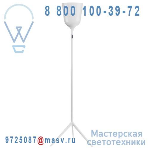 366102500 Lampadaire Blanc - COPACABANA Metalarte