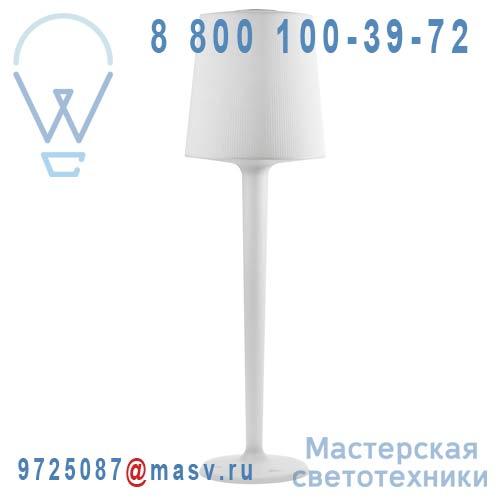 748000001 Lampadaire Blanc L - INOUT Metalarte