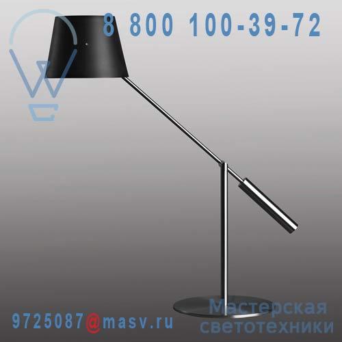 453201000 + 811084700 Lampe abat-jour metal Noir - LIBRA Metalarte