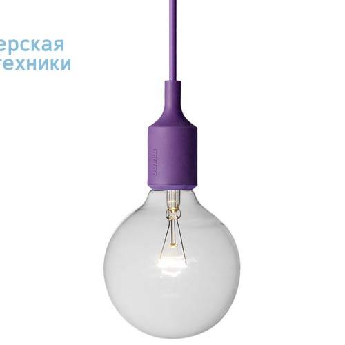 E27 5116 Suspension Violet - E27 Muuto