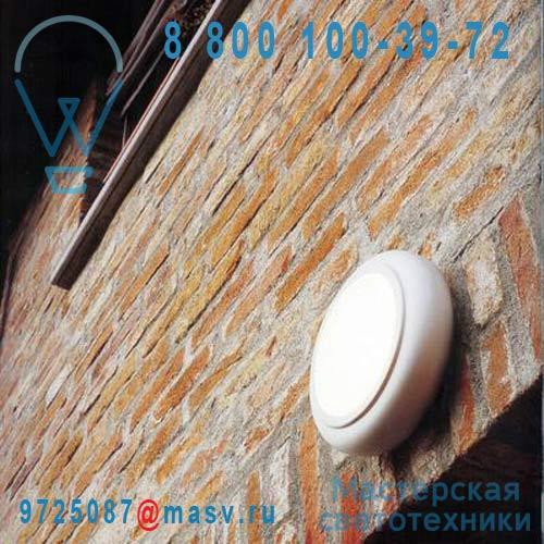 L0163 BI Applique/Plafonnier Blanc L - 1960 O Luce