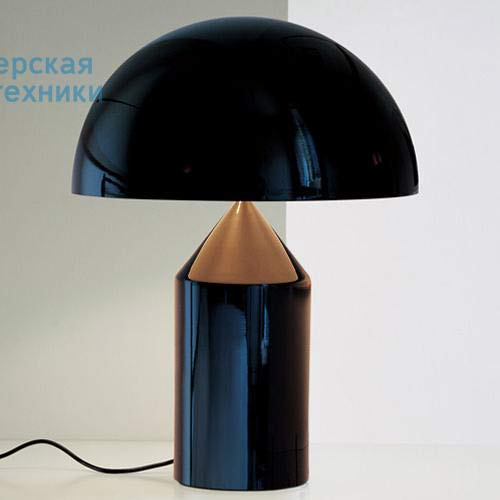 L0233D NE Lampe Noir L - ATOLLO O Luce