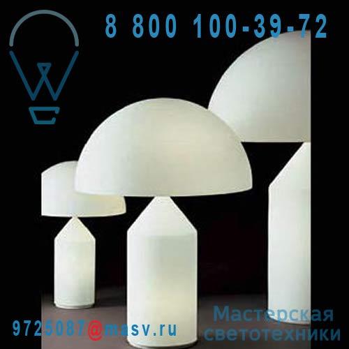 L0235 BI Lampe Verre opalin L - ATOLLO O Luce
