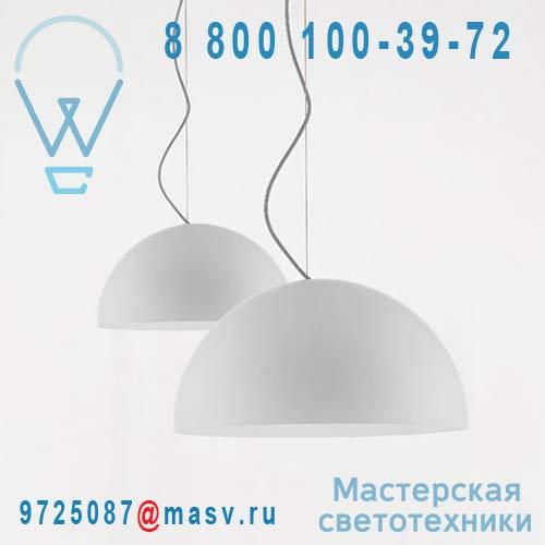 L0490 BI Suspension Opaline O90cm - SONORA O Luce
