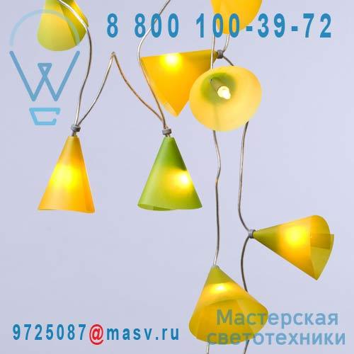 PA148.GCV Citron Vert 50 lumieres 5m - GUIRLANDE Pa Design