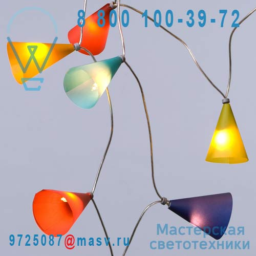 PA148.A18 Multicolore 20 lumieres 3,1m - GUIRLANDE Pa Design
