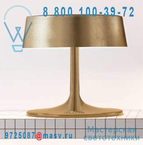 0308-00 Foglia Oro Lampe Gold M - CHINA Penta