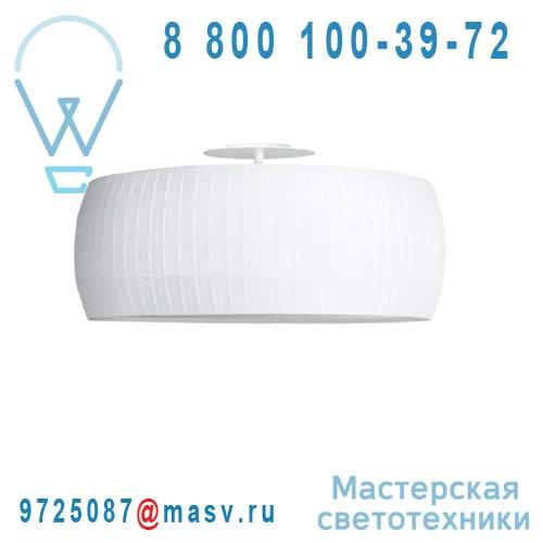 633100 Plafonnier Blanc M - ISAMU Carpyen