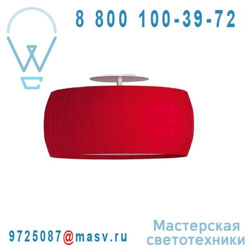 632500 Plafonnier Rouge S - ISAMU Carpyen