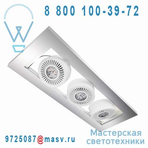 4008321989314 Plafonnier LED Argent - TRESOL TRIO Osram