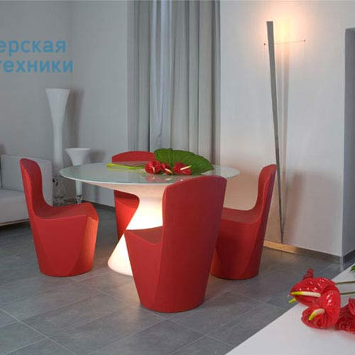 SD EDS140 Blanc Table lumineuse - ED Slide