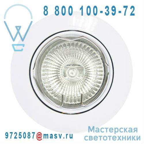 3276200102203 - 67628722 Spot encastrable orientable Blanc - CLANE Inspire