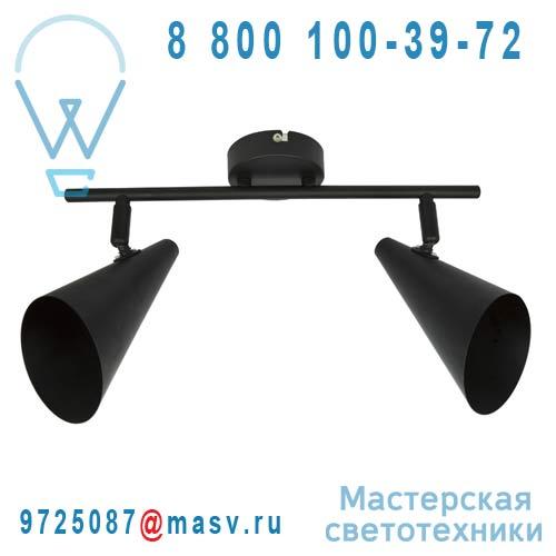 3276004389107-69080074 Barre de 2 spots Noir - ICA Inspire
