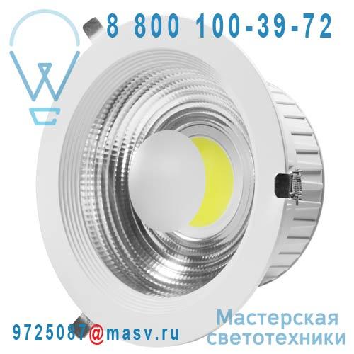 DEC/DLCOB-30W Spot encastrable orientable LED L Blanc froid - COB Lumihome